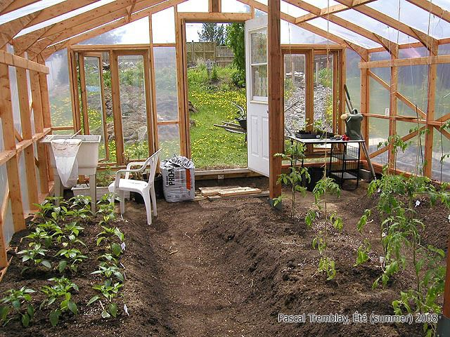Build garden greenhouse wood frame greenhouse design - How to build a wooden greenhouse ...