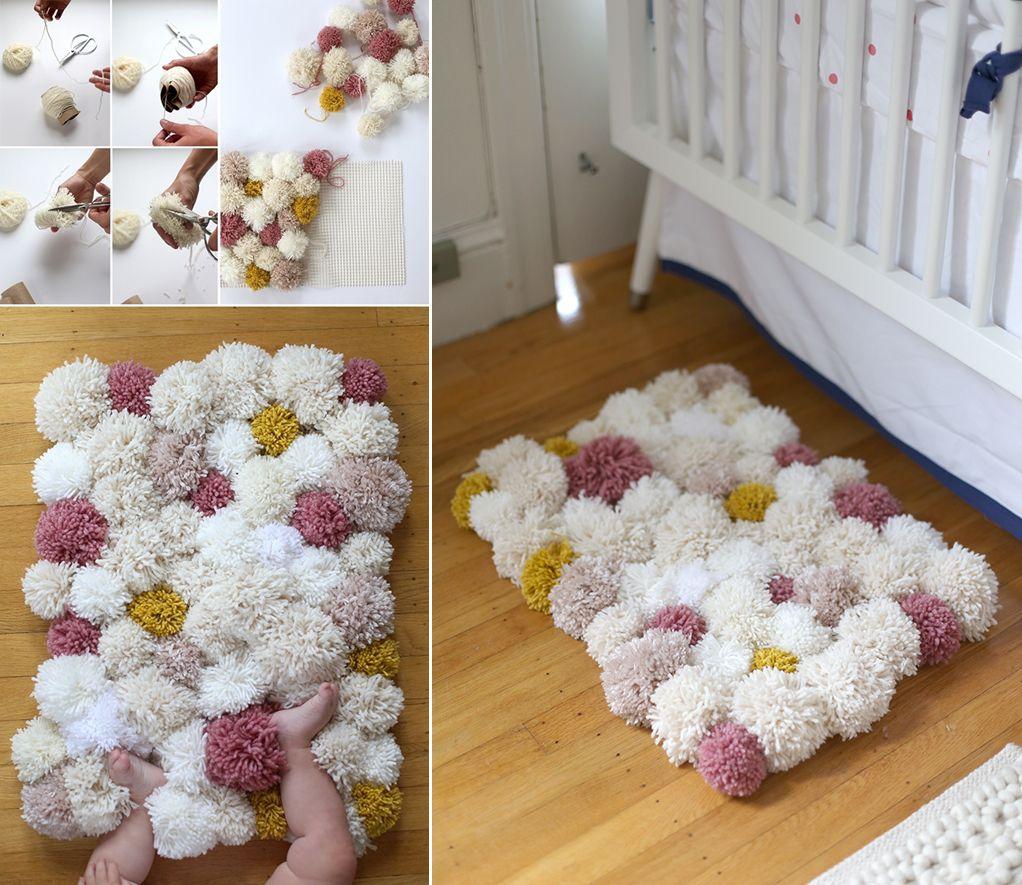 Cute Kidsu Room Diy Pom Projects