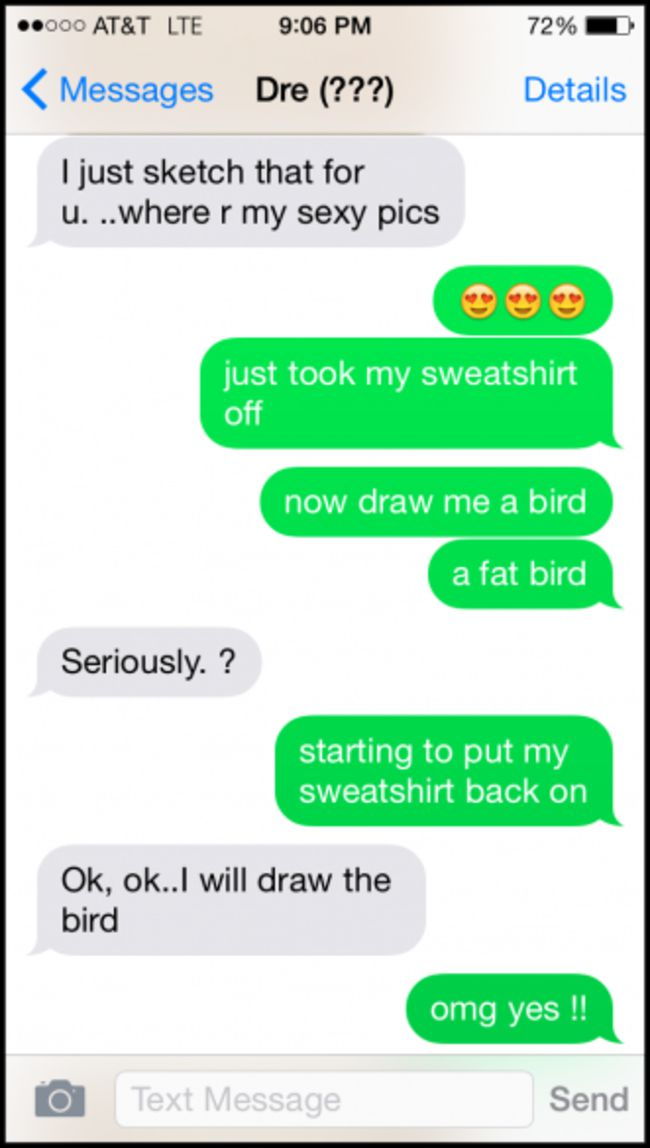 Guy Hilariously Messes With Wrong Text Creeper After He -6776