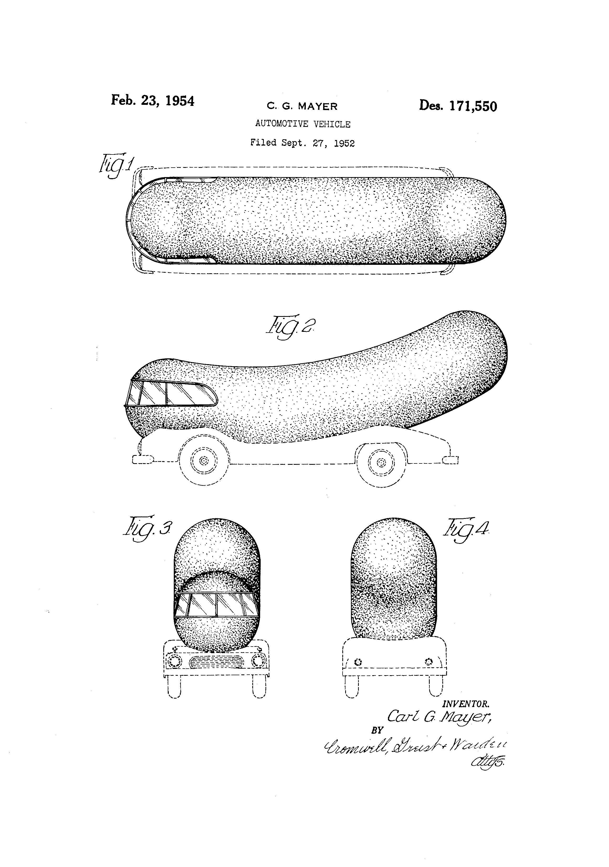 Wienermobile together with Oscar Mayer Hot Dogs in addition They Build Character Interview With Pat And Amy Giles Of Danger Pigeon Studios also 00044700030950 likewise Vintage Harley Davidson. on oscar mayer wienermobile facts