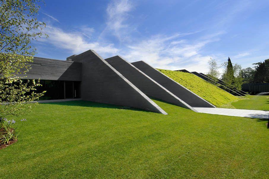 concrete house ii by a cero caandesign modern architecture and home designs - Concrete Home Designs
