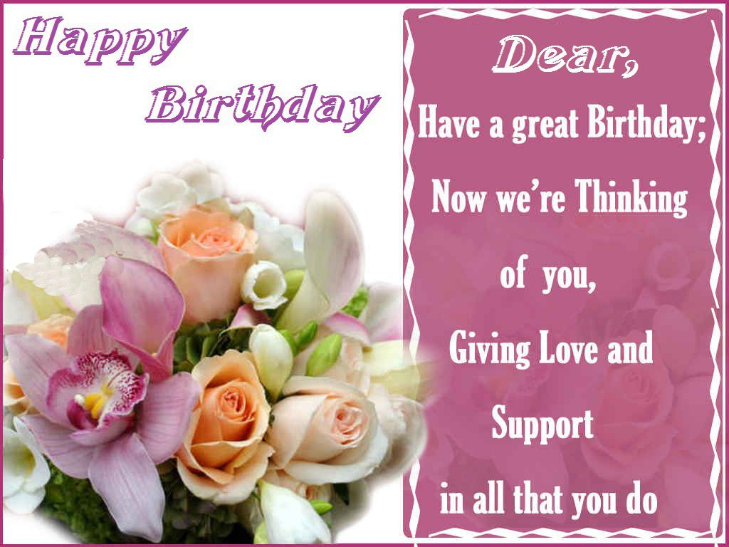 Happy Birthday Flowers Pictures For Facebook We Hope You Liked – Happy Birthday Cards for Facebook