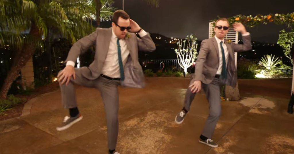 Best Men Poured Their Hearts Into This N Sync Wedding Dance