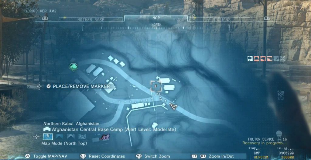 Phantom Pain Invoices Locations 'Fast Travel Points Guide
