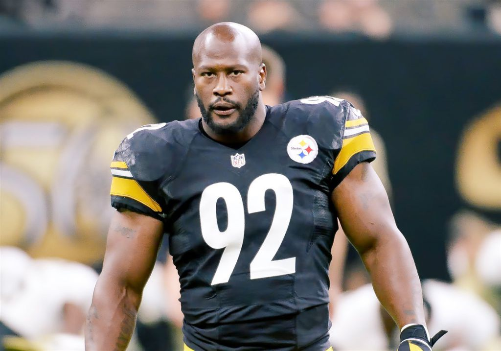 "Steelers' James Harrison- ""Anyone On My Team Sits For Anthem, They Better Be In A Wheelchair"""