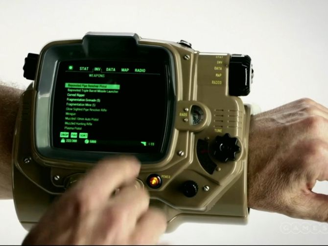 Real-life Fallout 4 Pip-Boy debuted at E3 2015, available ...