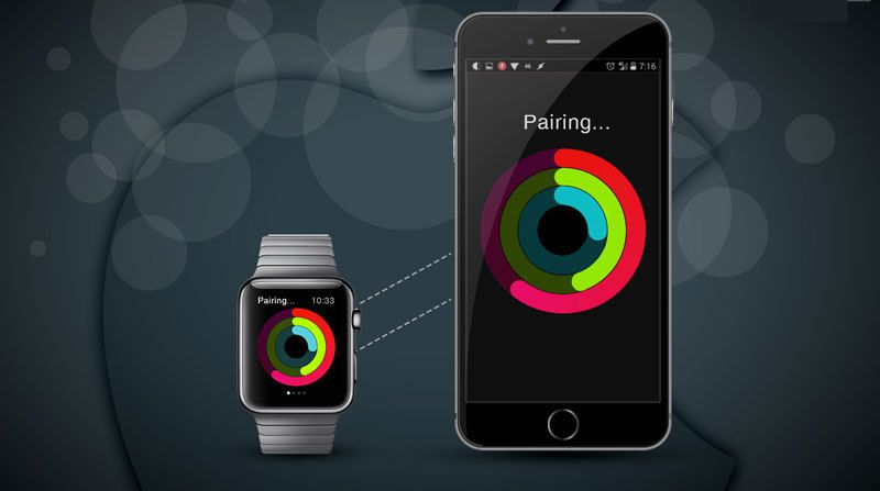 how to pair apple watch to new iphone