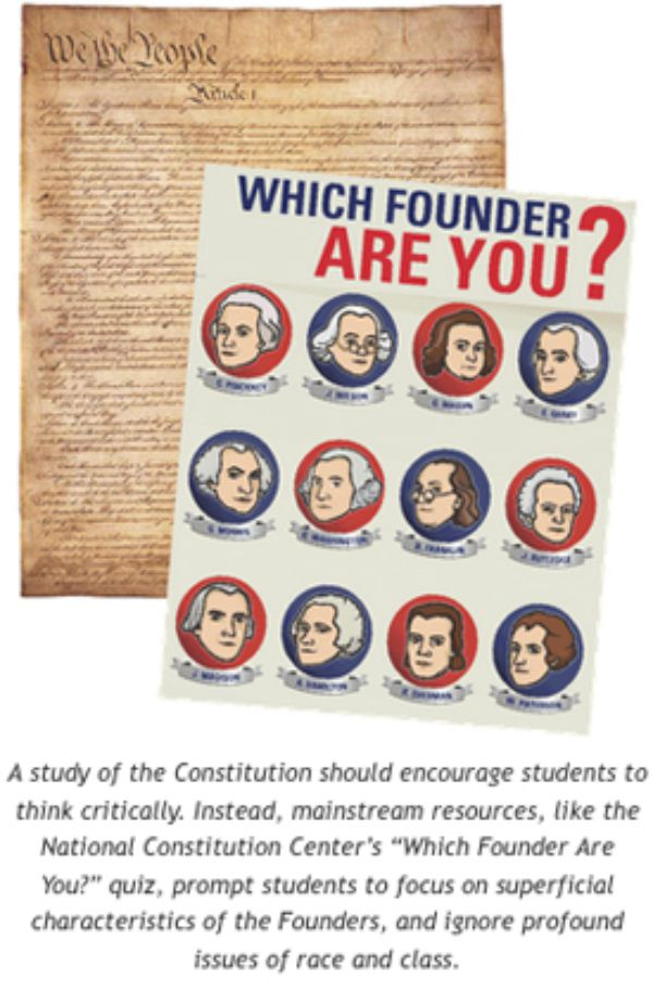 a study about the founders of constitution To what shared principles did the founding fathers appeal as they struggled to reach a compromise in the constitutional convention in this lesson, students will learn how the founding fathers debated then resolved their differences in the constitution.