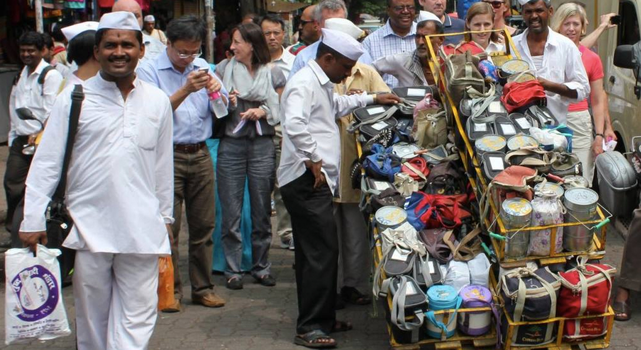 mumbai dabbawalla The iconic dabbawalas of the city are now just a click away with wwwdabbewalecom going live on tuesday, the auspicious ashadhi ekadashi day the dabbawalas are famous for delivering lunchboxes to employees in offices across the metropolis, taking the crowded suburban trains, with little or no.