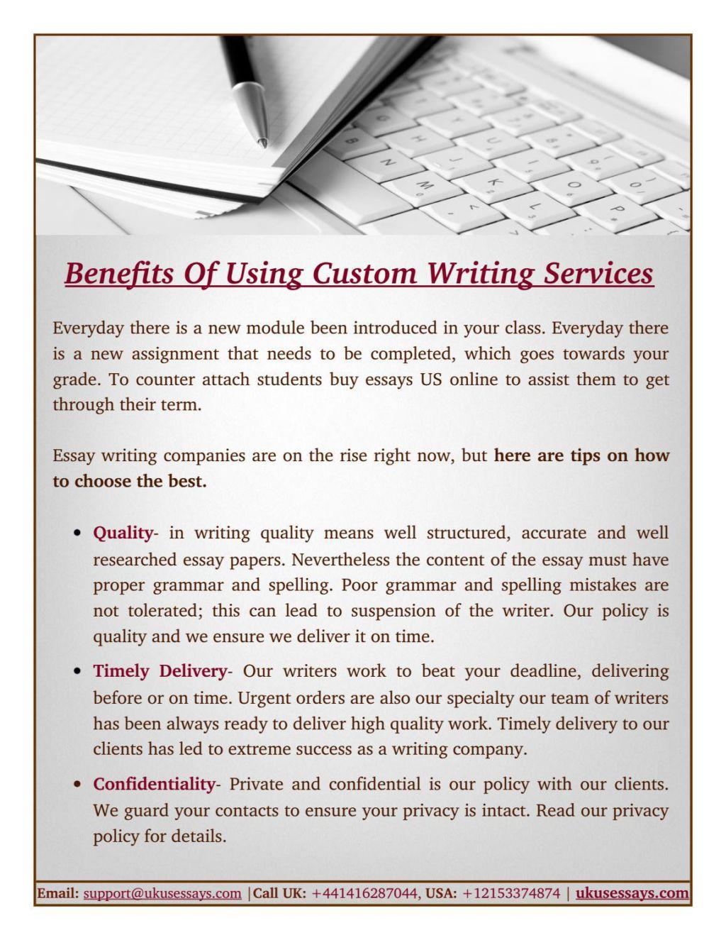 Benefits of essay writing skills