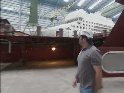 Watch Cruise Ship Builders Ep Really Big Things Season - Cruise ship builders