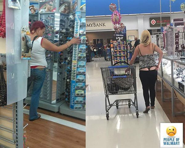 naked guy at wallmart pics