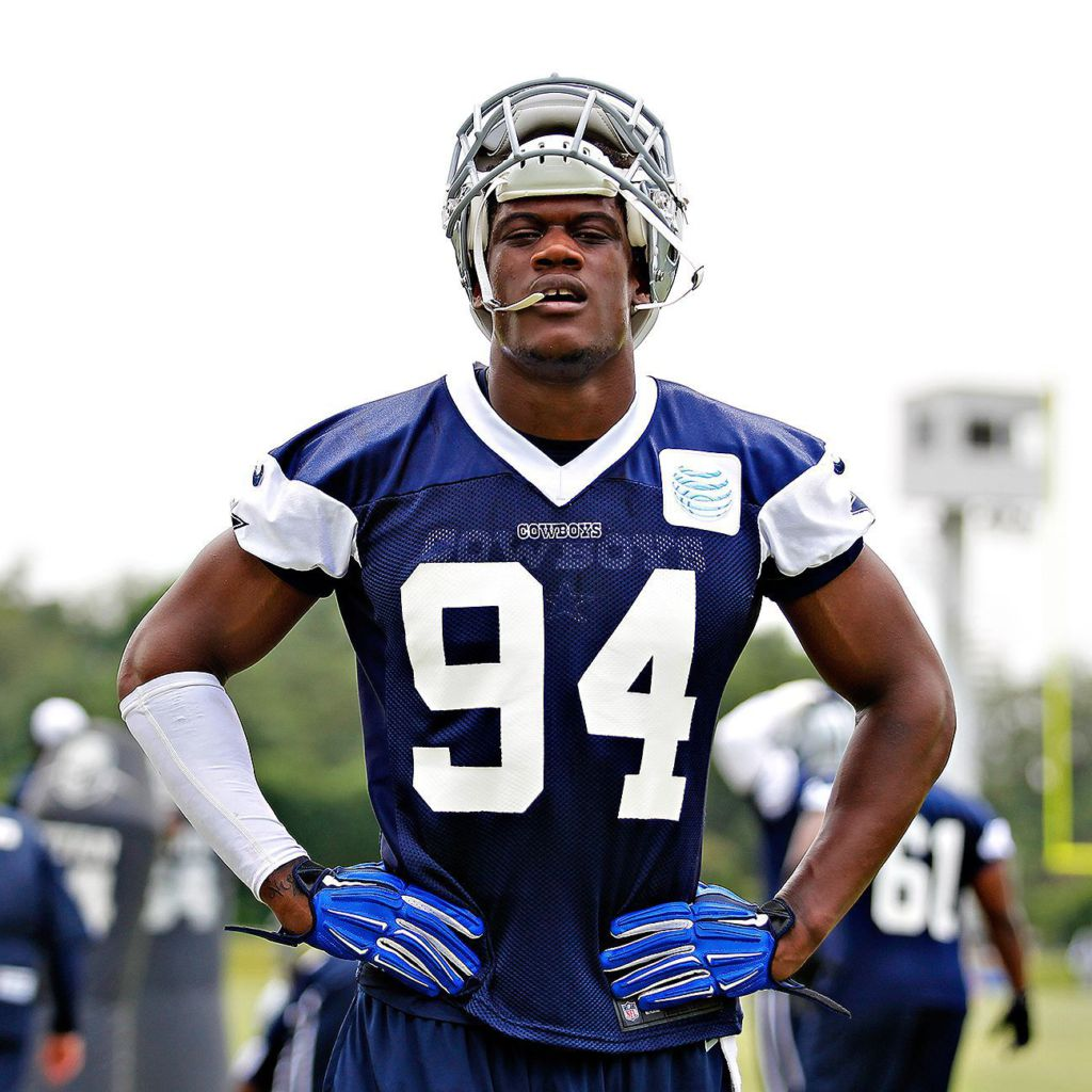 Cowboys Randy Gregory impresses Tyron Smith early Dallas