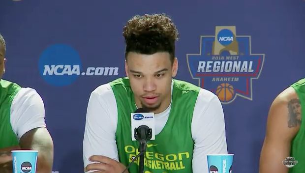 Oregon's Dillon Brooks Addresses Post-Game Conversation ...