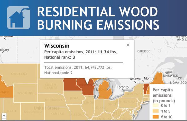 Wood Burning Emissions ~ Partical on lockerdome