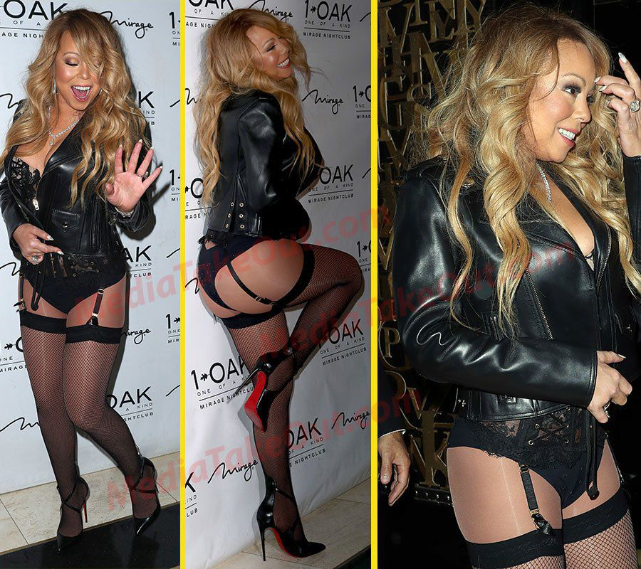 Mariah Carey Wears LINGERIE On The Red Carpet