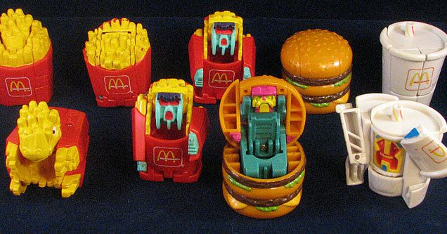 Top 80s Toys : The best happy meal toys from s and