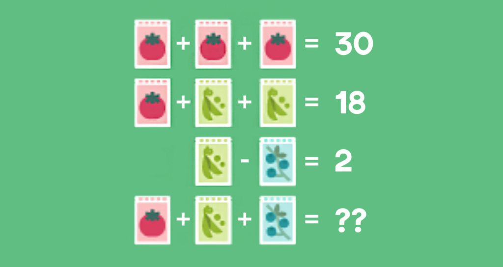 Quick! Can you solve this puzzle?