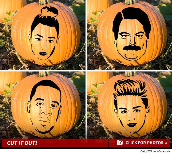 Celebrity Patterns - Ultimate Pumpkin stencils