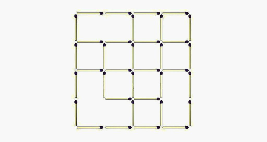 Quick! How many squares are there?