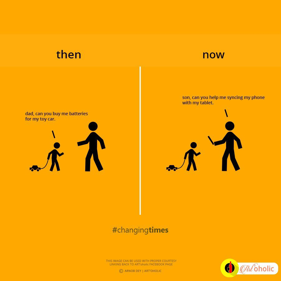 Comparative Illustrations Convincingly Prove That Time Changes Us All - Time changes in us