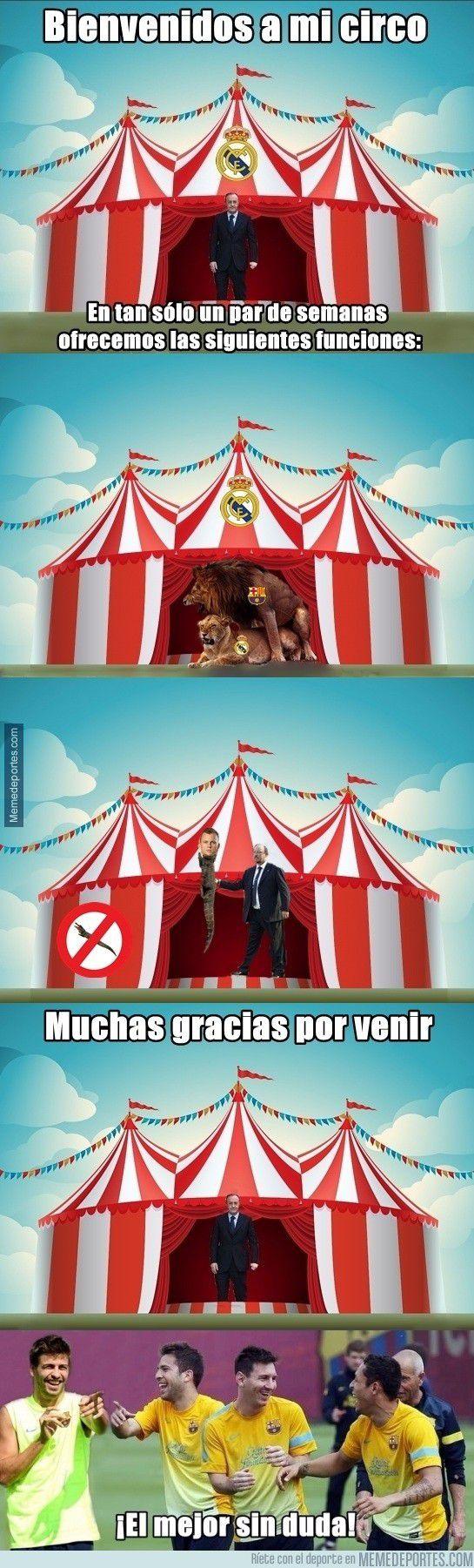 El Circo Del Real Madrid