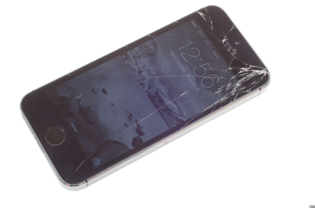 cracked iphone 5s screen replace a broken iphone 5s screen cnet 13902