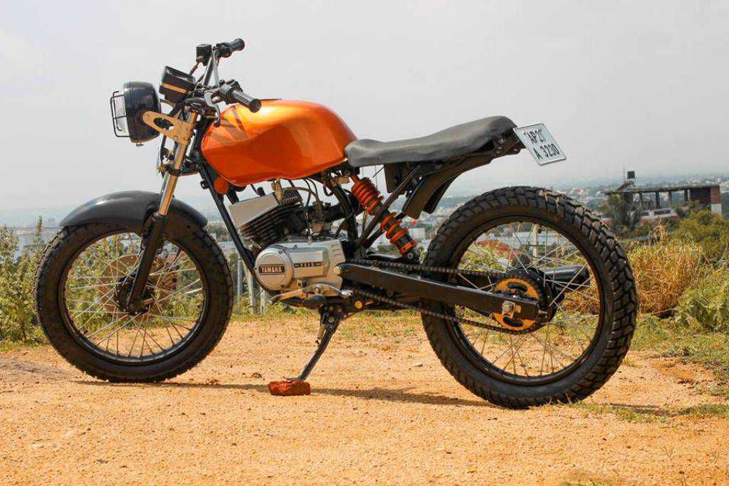 Yamaha 100 Dirt Bike  soiliscouk