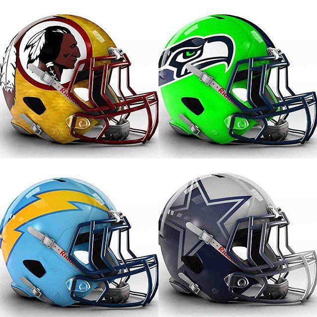 32 futuristic nfl helmet concept designs that are 110 cool
