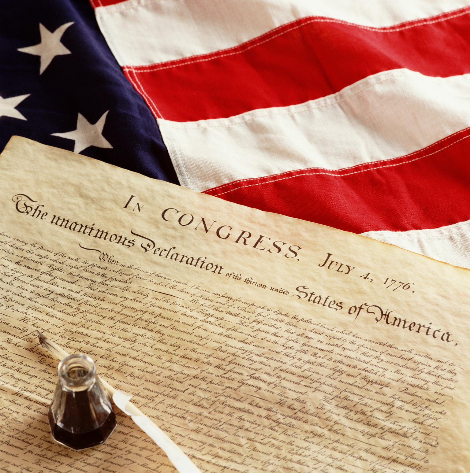 has america moved from the ideals of the declaration of independence