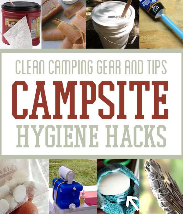 Clean Camping Gear and Tips