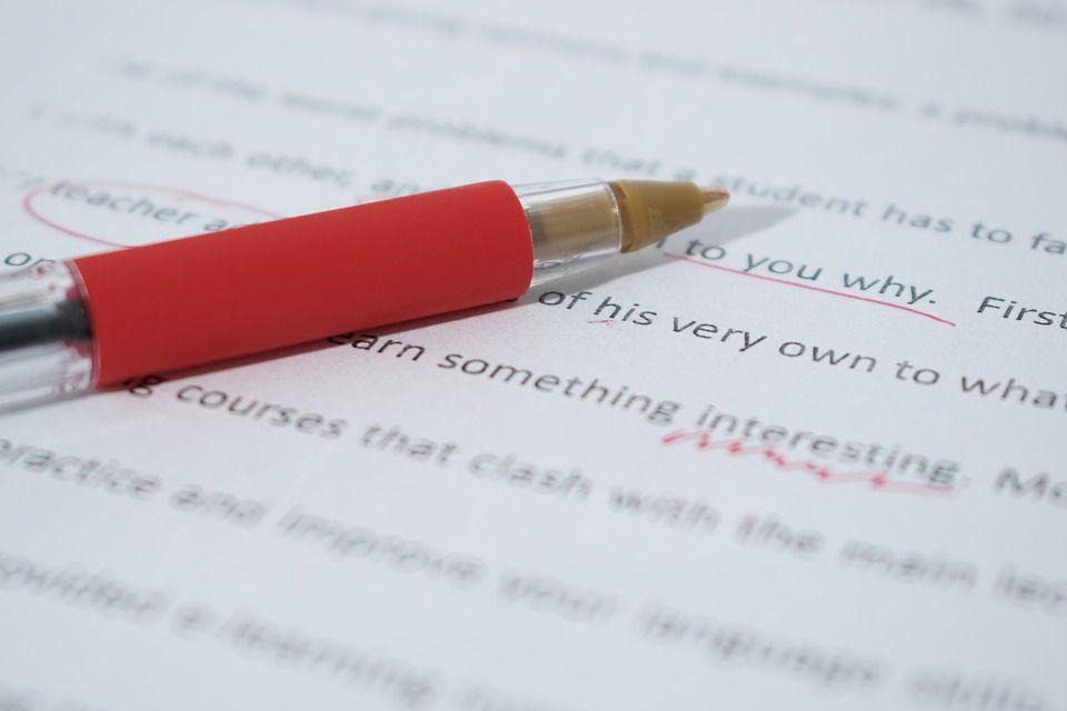 correcting editing essay writing