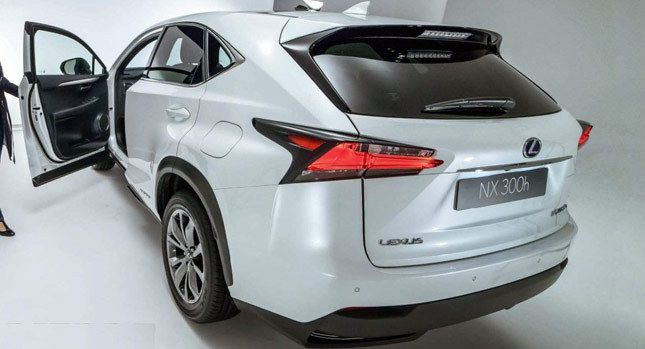 2016 Lexus NX Compact SUV Photos Surface Online  Carscoops