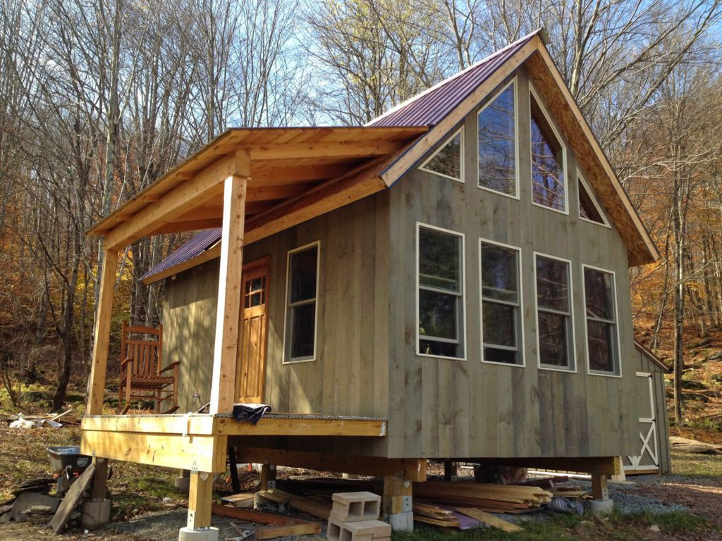 Adam And Karen S Tiny Off Grid House