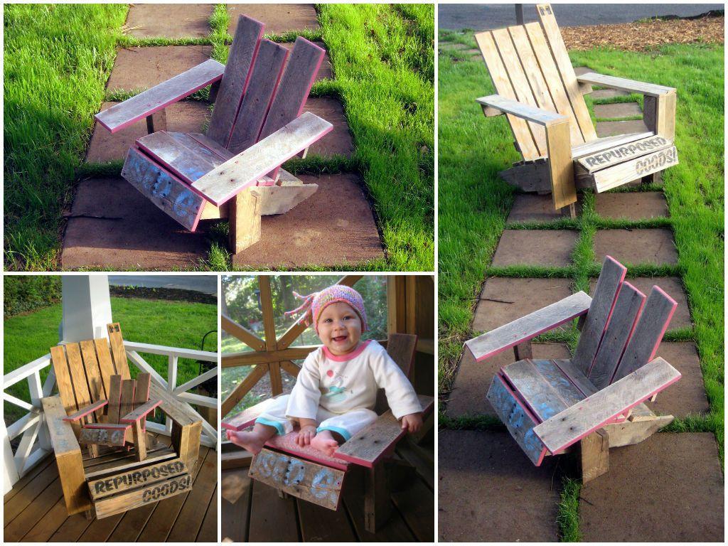 Mini Pallet Adirondack Chair Diy Guide 1001 Pallets