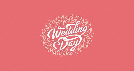 Wedding Day Logo Design The Inspiration
