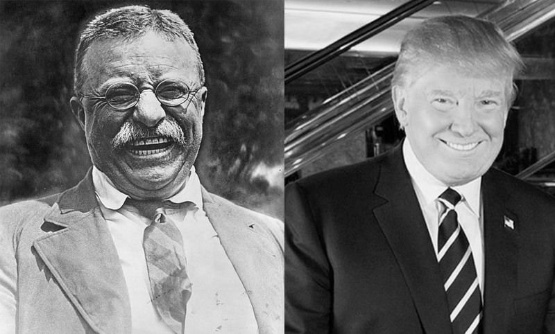 Is Donald Trump channeling President Theodore Roosevelt