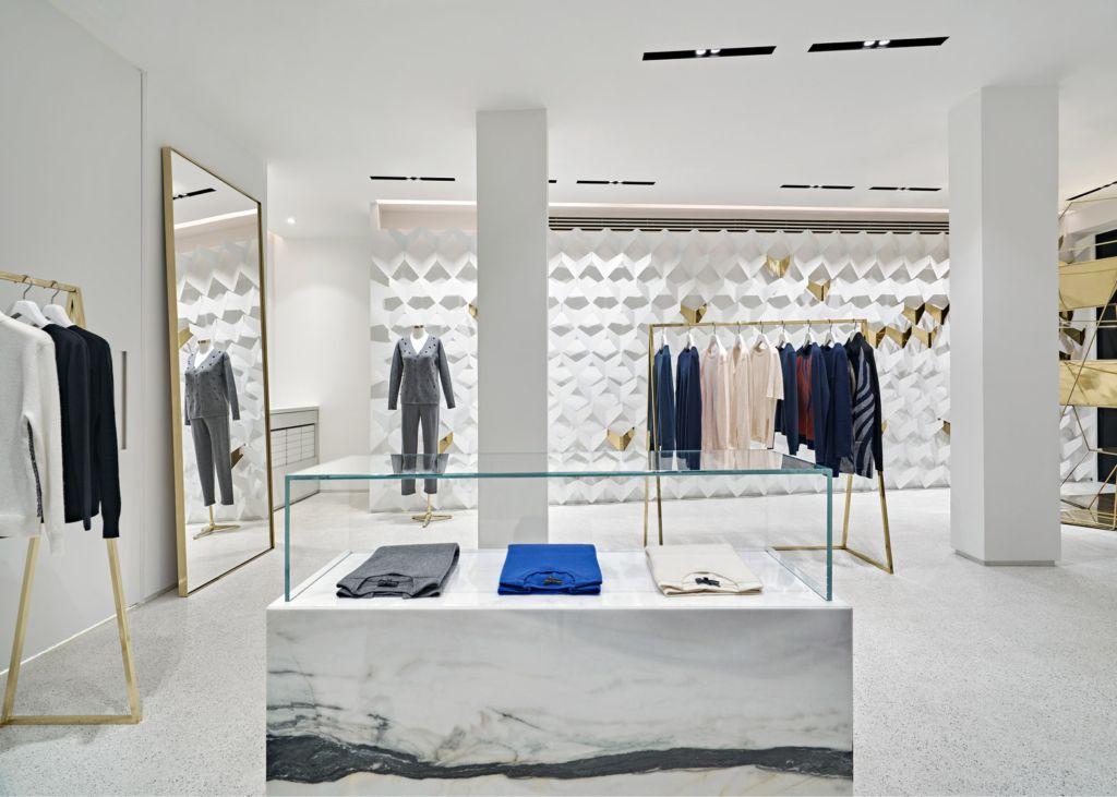 Urastudio creates minimalist clothing boutique in istanbul - Wardrobe for small spaces minimalist ...