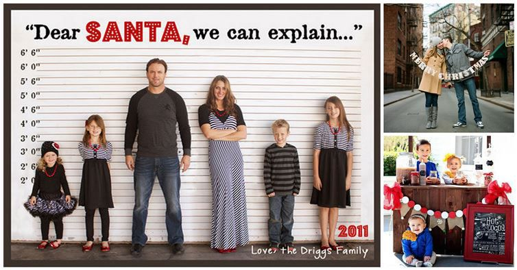 25 cute family christmas picture ideas for Giant christmas card ideas