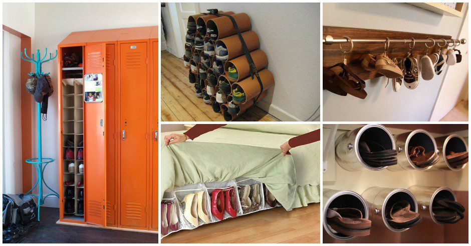 17 Most Amazing Shoe Storage Hacks That Will Simplify Your Life Architecture Art Designs