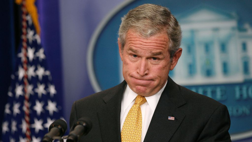 the arguments against the decisions and actions of george w bush and all of the republican party in