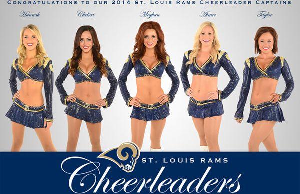 Cheerleader Countdown To The Nfl Season St Louis Rams