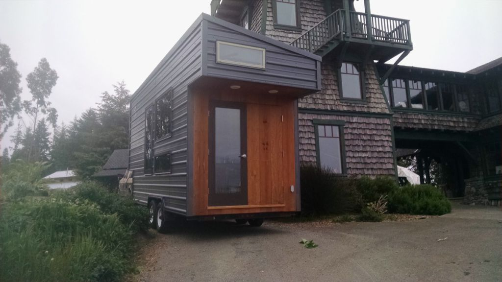 Modern humboldt tiny house on wheels for sale for Modern tiny homes on wheels