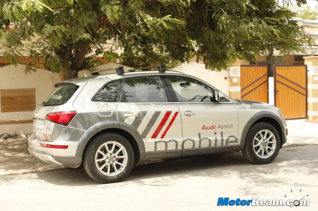 audi introduces new service mobile for roadside assistance. Cars Review. Best American Auto & Cars Review