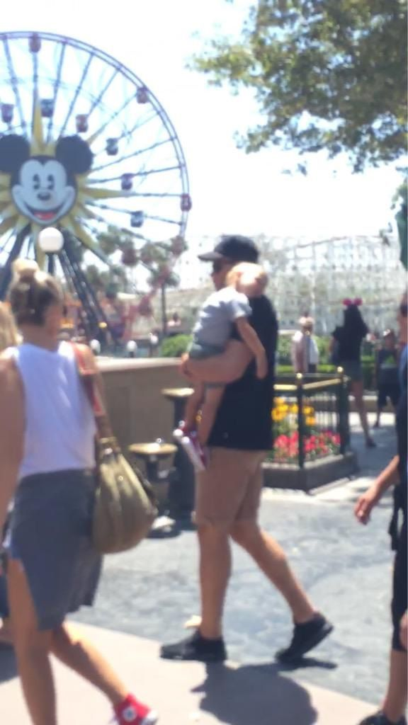 Blake Griffin and Baby Mama Spotted at Disneyland