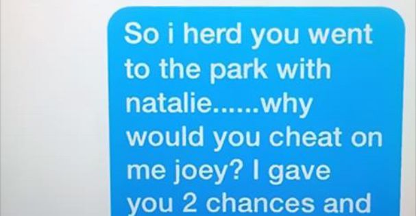 Hilarious Breakup Texts By The 11 Year Old Girl Who Caught