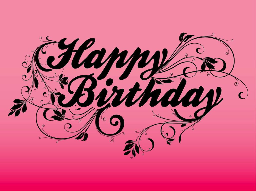 Happy Birthday Text Art Images Pictures Cards For Facebook – Happy Birthday Cards for Facebook