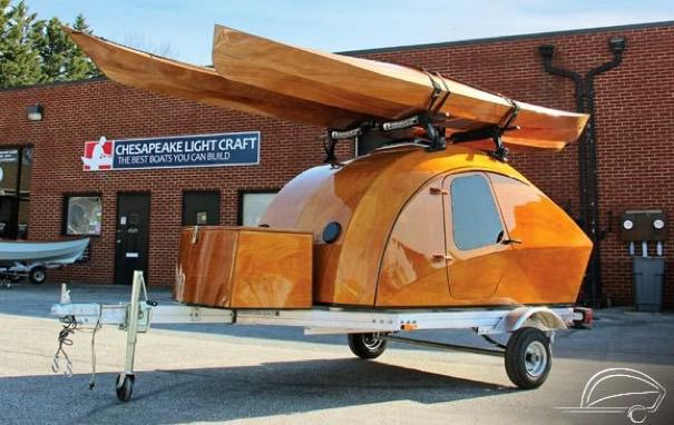 Gorgeous Teardrop Trailer By Chesapeake Light Craft