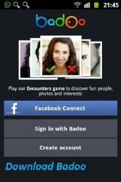 регистрироваться в badoo