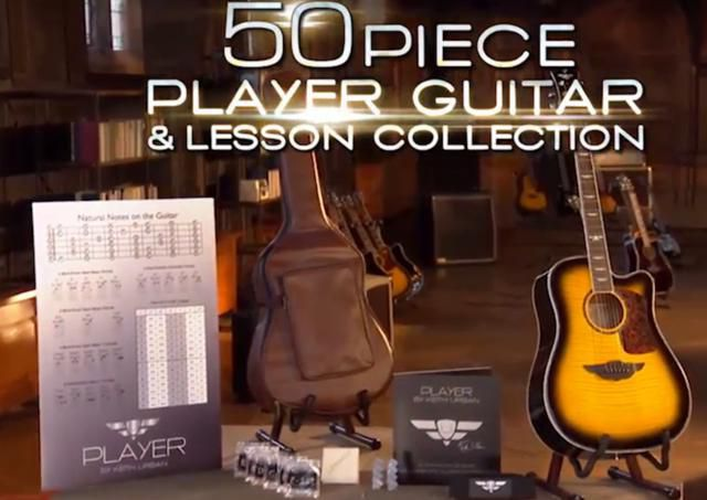 keith urban 39 s player guitar package reviews. Black Bedroom Furniture Sets. Home Design Ideas